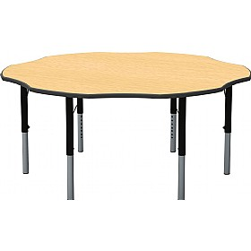 Height Adjustable Flower Theme Table £0 - Education Furniture