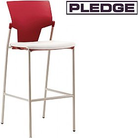 Pledge Ikon 4 Leg Stool £134 - Bistro Furniture