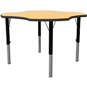 Height Adjustable Clover Theme Table £0 - Education Furniture