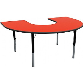 Height Adjustable Horseshoe Primary Theme Tables £0 - Education Furniture