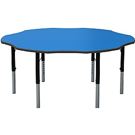 Height Adjustable Flower Primary Theme Tables £0 - Education Furniture