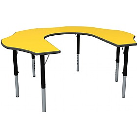 Height Adjustable Teachers Flower Primary Theme Table £0 - Education Furniture