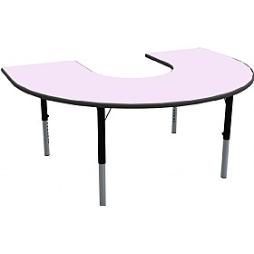 Height Adjustable Horseshoe Pastel Theme Table £0 - Education Furniture
