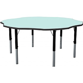 Height Adjustable Flower Pastel Theme Table £209 - Education Furniture