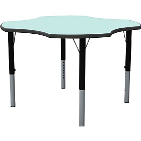 Height Adjustable Clover Pastel Theme Table £178 - Education Furniture