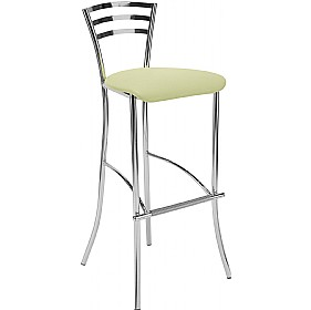 Molino Hocker Tall Fabric Bar Stools (Pack of 4) £93 - Bistro Furniture