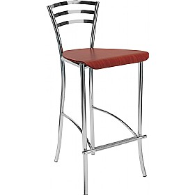 Molino 78 Wooden Cafe/Bistro Stool (Pack of 4) £84 - Bistro Furniture