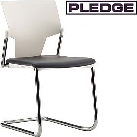 Pledge Ikon Cantilever Conference Chair £118 - Office Chairs