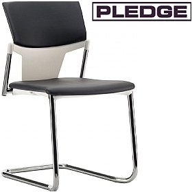 Pledge Ikon Upholstered Cantilever Conference Chair £137 - Office Chairs
