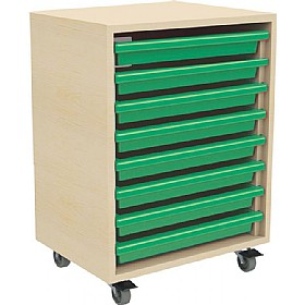 8 Tray Mobile Art & Paper Storage Unit £144 - Education Furniture