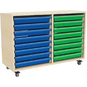 16 Tray Mobile Art & Paper Storage Unit £0 - Education Furniture