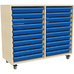 20 Tray Mobile Art & Paper Storage Unit £0 - Education Furniture
