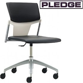 Pledge Ikon Upholstered Swivel Conference Chair £144 - Office Chairs
