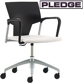 Pledge Ikon Swivel Conference Armchair £139 - Office Chairs