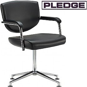 Pledge Key Low Back Swivel Conference Chair £277 - Office Chairs