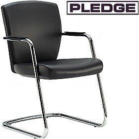 Pledge Key Full Back Cantilever Conference Chair £200 - Office Chairs