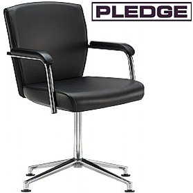 Pledge Key Full Back Swivel Conference Chair £286 - Office Chairs