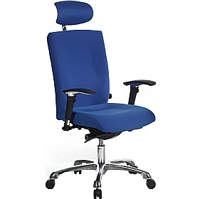 Ripple 24Hr Ergonomic Fabric Task Chair £188 - Office Chairs