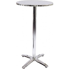 Aluminium Bistro Poseur Table £66 - Bistro Furniture