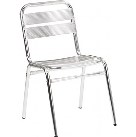 Aluminium Bistro Side Chair (Minimum 4) £35 -