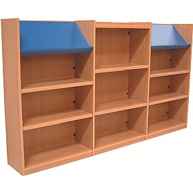 Nexus Library Combination Bookcases £670 - Education Furniture