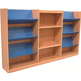 Nexus Library Combination Display Bookcases £0 - Education Furniture