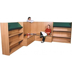 Nexus Library Corner Combination Bookcases £0 - Education Furniture