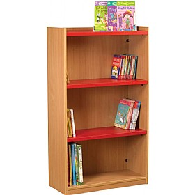 Nexus Library Starter Flat Top Bookcases £170 - Education Furniture