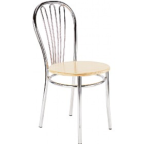 Vega Wooden Bistro Chairs (Pack of 4) £52 - Bistro Furniture