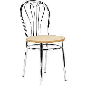 Venus Wooden Bistro Chairs (Pack of 4) £48 - Bistro Furniture