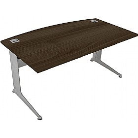 Elite Kassini Bow Fronted Rectangular Desks £524 - Office Desks
