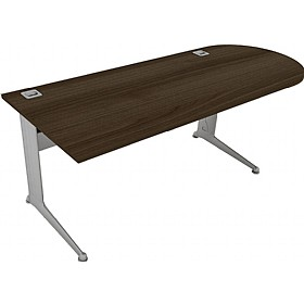Elite Kassini D-End Rectangular Desks £561 - Office Desks