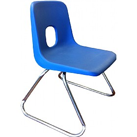 E-Series Skid Base Chairs Chrome £0 - Education Furniture
