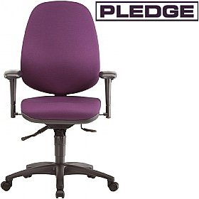 Pledge Profile Full Back Posture Chair £242 - Office Chairs