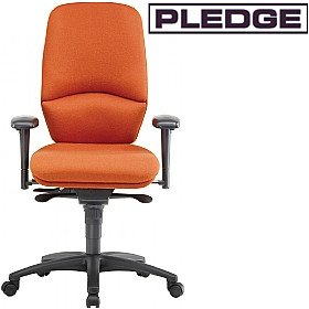 Pledge Task High Back Posture Chair £418 - Office Chairs