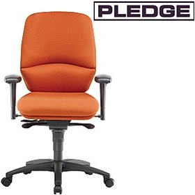 Pledge Task Medium Back Posture Chair £422 - Office Chairs