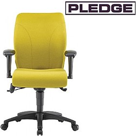Pledge Ethos Medium Back Posture Chair £463 - Office Chairs