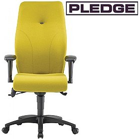 Pledge Ethos High Back Posture Chair £480 - Office Chairs