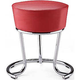 Pinacolada Faux Leather Stool (Pack of 4) £70 - Bistro Furniture
