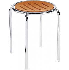 Ringo Wooden Stools (Pack of 4) £52 - Bistro Furniture