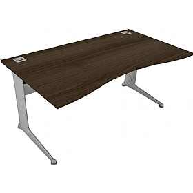 Elite Kassini Double Wave Desks £475 - Office Desks