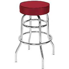 Retro Faux Velvet Bistro/Bar Stool (Pack of 4) £64 - Bistro Furniture