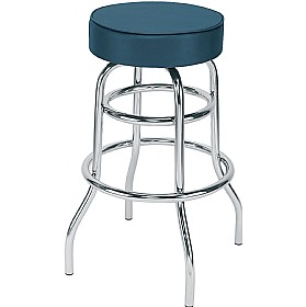 Retro Faux Leather Bistro/Bar Stools (Pack of 4) £64 - Bistro Furniture