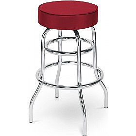 Retro Twist Faux Velvet Bistro/Bar Stool (Pack of 4) £66 - Bistro Furniture