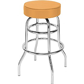 Retro Twist Faux Leather Bistro/Bar Stools (Pack of 4) £66 - Bistro Furniture