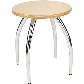 Harpo Wooden Stools (Pack of 4) £42 - Bistro Furniture