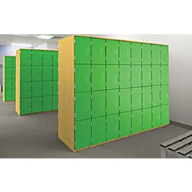 Wooden Cloakroom Lockers £0 - Education Furniture