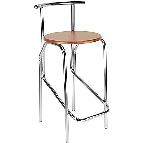 Jola 78 Wooden Cafe/Bistro Stools (Pack of 4) £57 - Bistro Furniture