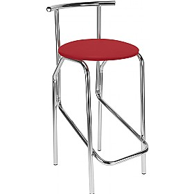 Jola 78 Faux Velvet Cafe/Bistro Stools (Pack of 4) £54 - Bistro Furniture
