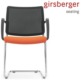 Girsberger Yanos Mesh Cantilever Meeting Chair £214 - Office Chairs